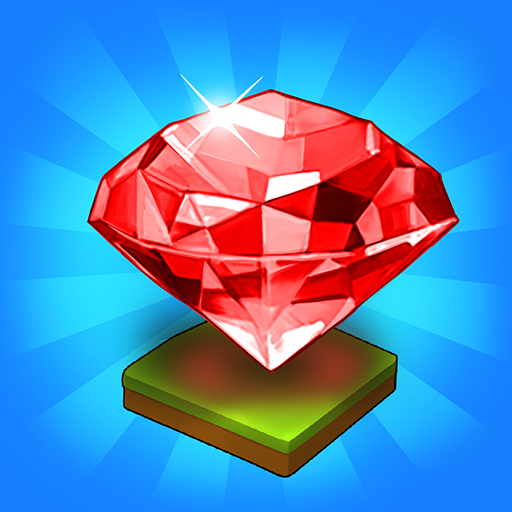 Merge Jewels: Gems Merger Evolution games MOD APK