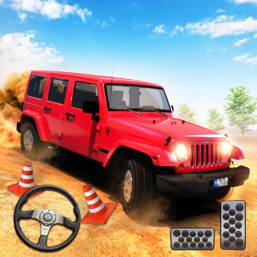 Off road Jeep Parking Simulator: Car Driving Games MOD APK