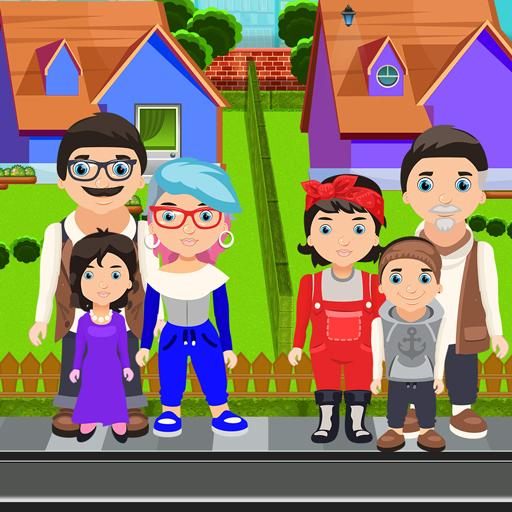 Pretend House Neighborhood MOD APK