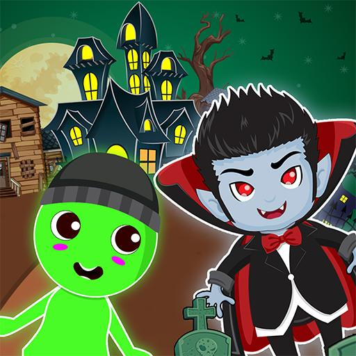 Pretend Play Ghost Town: Haunted House Game MOD APK