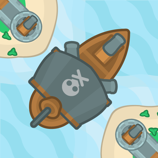 The Pirate Journey 🏴‍☠️ Endless Shoot 'Em Up Game MOD APK