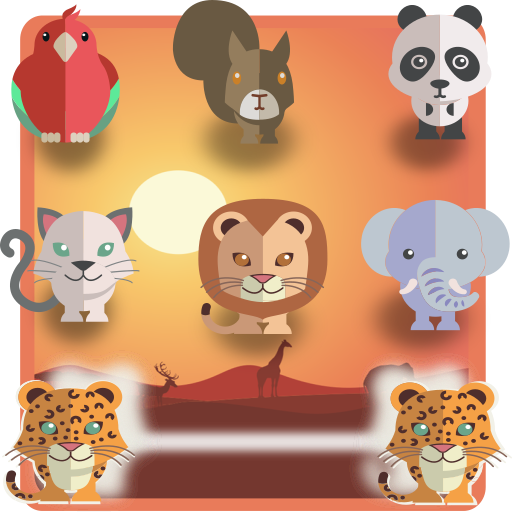 Animal connect game: PetsNet. Pet puzzle game free MOD APK