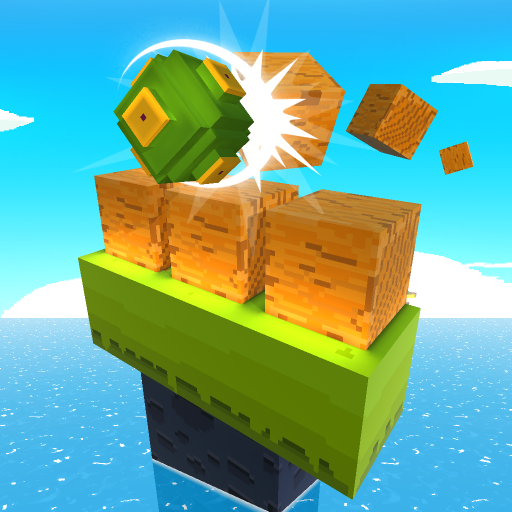 Blocky Tower – Knock Box Balls Ultimate Knock Out MOD APK
