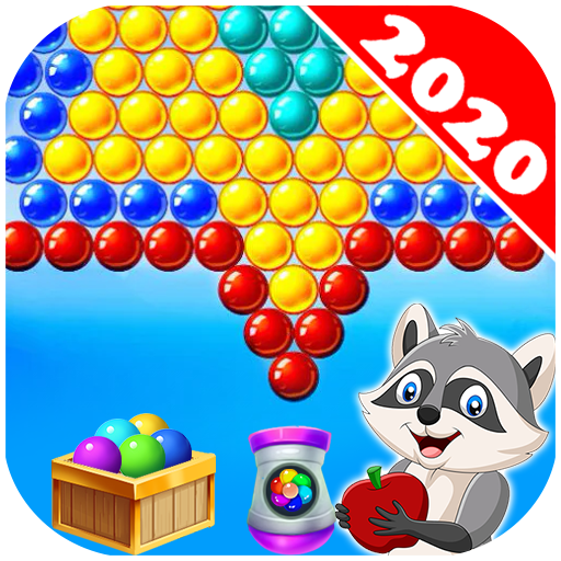 Bubble Shooter Raccoon MOD APK