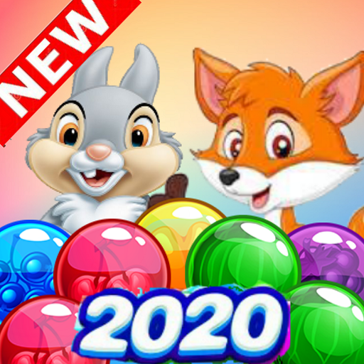 Bunny & Fox Pop 2020 : Bubble Shooter MOD APK