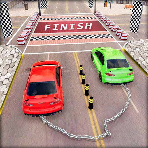 Chained Car Racing 2020: Chained Cars Stunts Games MOD APK