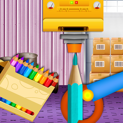 Color Pencil Maker Factory: Craft Colorful Pen MOD APK