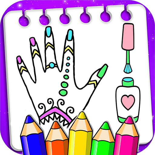 Coloring Fashion Nail Salon MOD APK