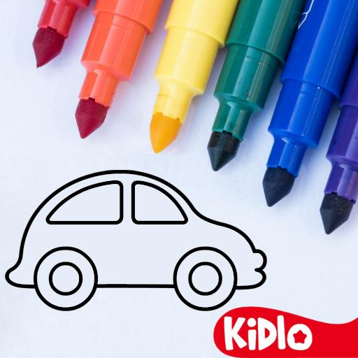 Coloring Games for Kids – Drawing & Color Book MOD APK