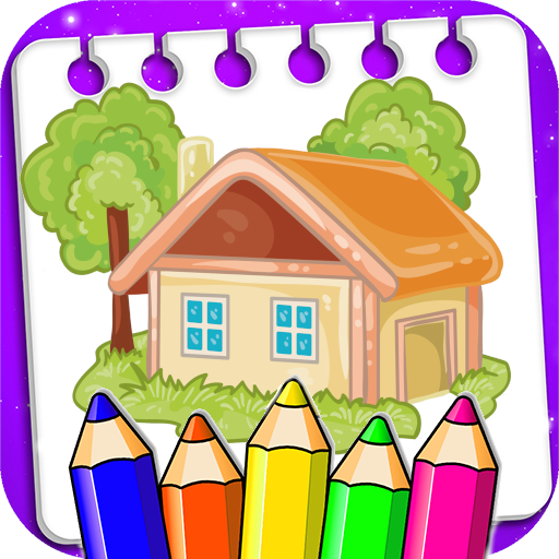 Coloring House and Palace MOD APK