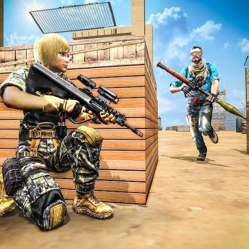 Commando Gun strike: FPS Shooting Games 2020 MOD APK