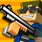 Cops N Robbers – 3D Pixel Craft Gun Shooting Games MOD APK 9.8.8