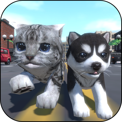 Cute Pocket Cat And Puppy 3D MOD APK