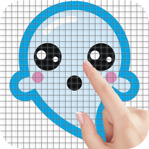 Ghosts Color by Number – Pixel Art Game MOD APK