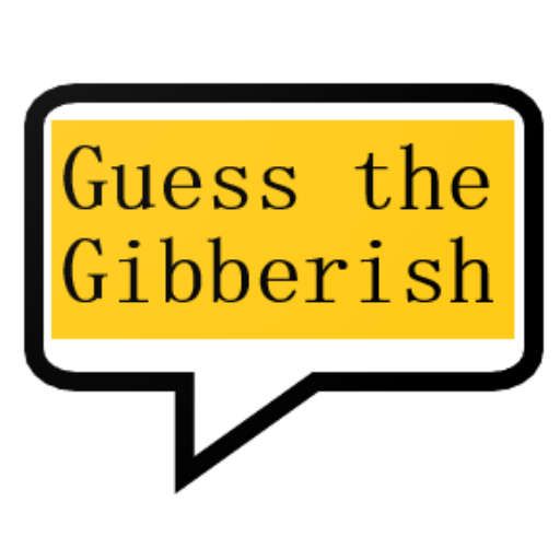 Guess the gibberish game – word games / challenge MOD APK