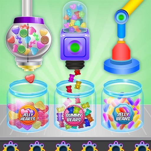 Jelly Candy Factory: Gumball & Lollipop Maker Chef MOD APK