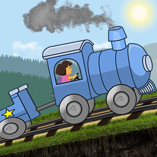 Little Girl Train Driving Adventures MOD APK
