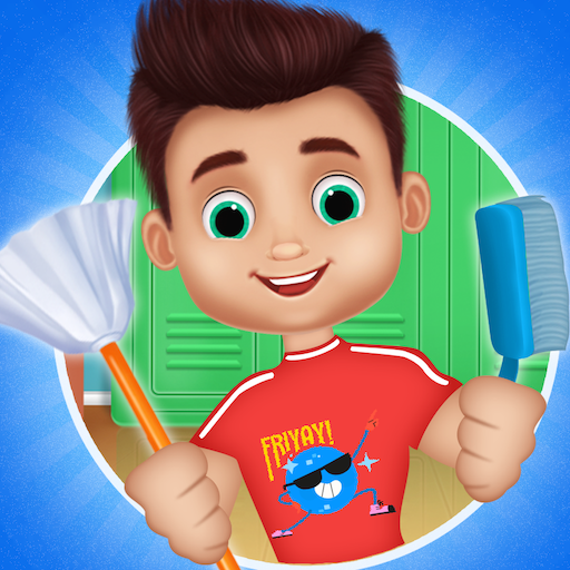 Messy School Cleaning – Bus classroom cleanup MOD APK