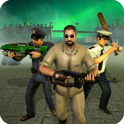 NY Police Zombie Defense 3D New Tower Defense Game MOD APK