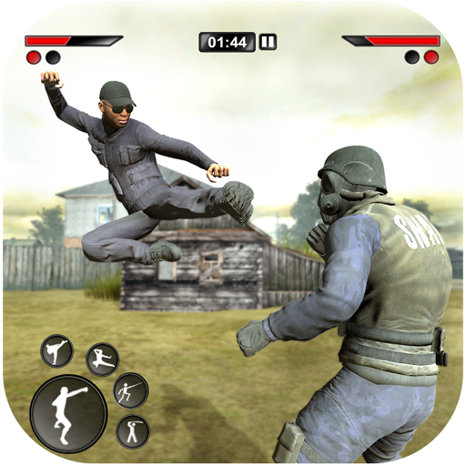 New kung Fu karate: Army Battlefield Fighting Game MOD APK