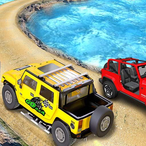 Offroad Jeep Driving Stunt 3D : Real Jeep Games MOD APK