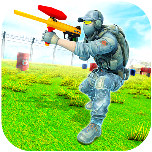 Paintball Fps Shooting Offline Paintball Game MOD APK