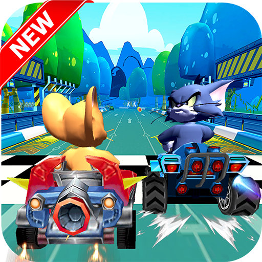 Race Jerry Car and Cat Speed MOD APK