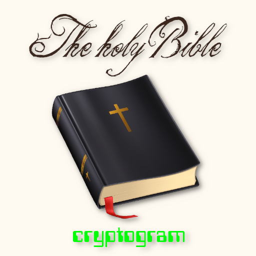 The Holy Bible in Cryptogram MOD APK