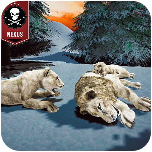The white lion Sim: Rise of a snow King MOD APK