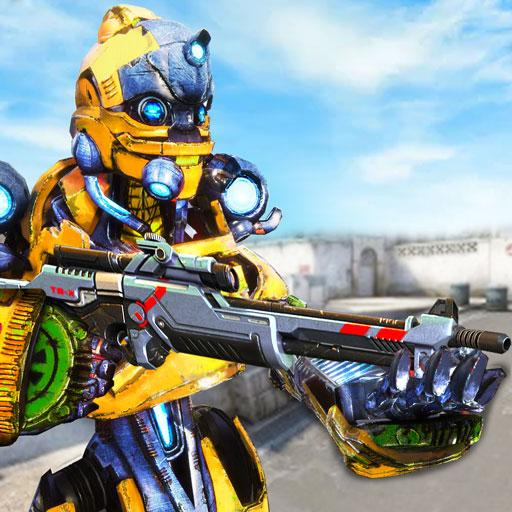 Us Army Robot FPS Shooting Strike Game 3D 2020 MOD APK