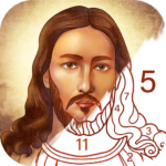 Bible Coloring – Paint by Number, Free Bible Games MOD APK 2.17.0