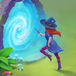 Charms of the Witch: Magic Mystery Match 3 Games MOD APK 2.24.0