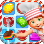 Cookie Star: Sugar cake puzzle match-3 game MOD APK 2.1.1