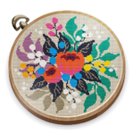 Cross Stitch Club — Color by Numbers with a Hoop MOD APK 1.4.45