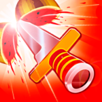 Knife Flip – Knives Hitting Game MOD APK 1.1.1