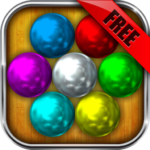 Magnetic Balls HD Free: Match 3 Physics Puzzle MOD APK 2.2.1.1