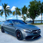 Parking Mercedes C63 AMG City Drive MOD APK