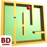 Red Ball in Labyrinth 3D MOD APK 1.1.4