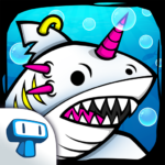 Shark Evolution – Fierce Shark Making Clicker MOD APK