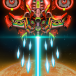 Sky Raptor: Space Invaders MOD APK 1.3.7
