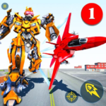 Air Robot Game – Flying Robot Transforming Plane MOD APK 2.2