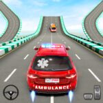 Ambulance Car Stunts: Mega Ramp Stunt Car Games MOD APK 2.1