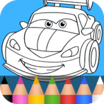 Cars Coloring Pages for Kids MOD APK 1.3.8