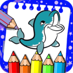 Coloring Book for Dolphins and Sharks MOD APK 1.0.2