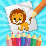 Coloring Games –  Toddler Coloring Book for Kids MOD APK