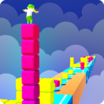 Cube Tower Surfer Color 3D MOD APK 0.2