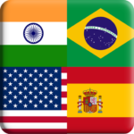 Flags Quiz Gallery : Quiz flags name and color MOD APK 1.0.193