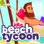 Idle Beach Tycoon : Cash Manager Simulator MOD APK 1.0.7