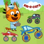 Kid-E-Cats: Kids racing. Monster Truck MOD APK 1.1.8