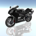 Motorcycle Driving and Real Traffic Game Simulator MOD APK 1.2